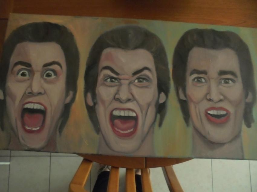 Jim Carrey by ferrokaro